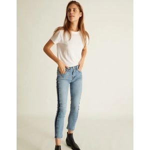 NWT Agolde Toni Mid Rise Slim Straight Jeans